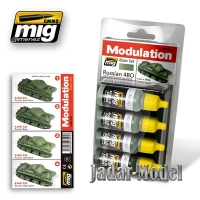 A.MIG-7004 (BACKORDER) Russian 4BO Modulation Set (4x17ml)