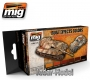 A.MIG-7106 (BACKORDER) Rust Effects Colors Set (6x17ml)
