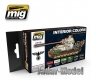 A.MIG-7108 (BACKORDER) Interior Colors: German Tanks (6x17ml)
