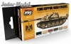 A.MIG-7113 Yom Kippur War Colors Set (6x17ml)