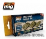 A.MIG-7117 Wargame 1943-1945 German Set (6x17ml)