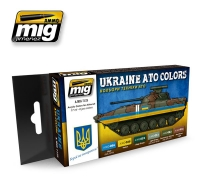 A.MIG-7125 Ukraine ATO Colors (6x17ml)