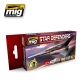 A.MIG-7130 Star Defenders Sci-Fi Colors - Acrylic ...