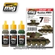 A.MIG-7136 Russian WW2 Acrylic Set (3x17ml)