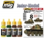 A.MIG-7137 WWII Japanese AFV (early) Colors - Acrylic Smart Set (4x17ml)
