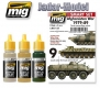 A.MIG-7139 (BACKORDER) Afghanistan War 1979-89 - Acrylic Smart Set (3x17ml)