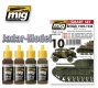 A.MIG-7140 (BACKORDER) British 1939-1945 European Colors - Acrylic Smart Set (4x17ml)