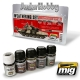 A.MIG-7147 Modern Russian Vehicles Weathering Set (5x35ml)
