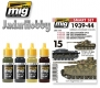 A.MIG-7148 (BACKORDER) 1939-1944 German Standard Colors - Acrylic Smart Set (4x17ml)