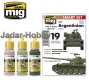 A.MIG-7167 AFV Argentinian Colors Colors - Acrylic Smart Set (3x17ml)