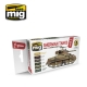 A.MIG-7169 Sherman Tanks Vol. 1 (WWII Commonwealth) - Acrylic Paint Set (6x17ml)