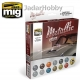 A.MIG-7175 Metallic Colors Set (12x17ml)