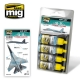 A.MIG-7219 (BACKORDER) SU-35 Flanker-E Colors (4x17ml)