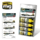 A.MIG-7224 Russian WW2 Bombers Colors (4x17ml)