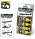 A.MIG-7226 SPANISH CIVIL WAR - NATIONALISTS AIRCRAFTS SET (4x17ml)