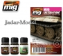 A.MIG-7405 Easter Front Mud Enamel & Pigments Set (3x35ml)
