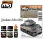 A.MIG-7413 US Green Vehicles Starter Set (3x35ml)