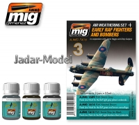 A.MIG-7416 RAF Fighters and Bombers Set (3x35ml)