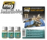 A.MIG-7424 Desert Airplanes Weathering Set (3x35ml)