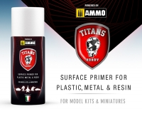 A.MIG-TTH108 - Military Green Matt Primer Titans-Ammo Spay Can (400ml)