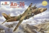 Amodel 72134 1/72 An-26 (Versions RR, RT, Z)