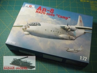 "Amodel 72141 1/72 Antonov An-8 ""Camp"""