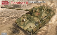 Amusing Hobby 35A012 1/35 Panther II prototype design plan