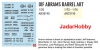 Archer AR35190 OIF M1A1 A2 Abrams barrel art (1/35)