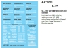 Archer AR77021 1:35 US late war address codes and stencils