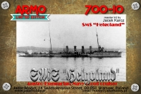 Armo 700-10 1/700 SMS Helgoland - the Austro-Hungarian Navy Scout Cruiser