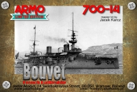Armo 700-14 1/700 Bouvet - French battleship, 1900