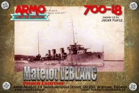 Armo 700-18 1/700 Matelot Leblanc - ex-Dukla, French destroyer