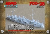 Armo 700-28 1/700 NMF Friant 1899
