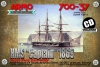 Armo 700-37 1/700 HMS Captain 1869