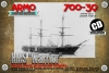 Armo 700-39 1/700 HMS Warrior 1860