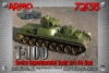 Armo 72135 1/72 T-100 Soviet twin-turreted heavy tank with L-10 gun