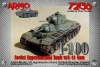 Armo 72136 1/72 T-100 Soviet twin-turreted heavy tank with L-11 gun