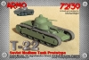 Armo 72139 1/72 T-22 Tank Grote
