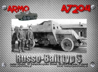 Armo A7204 1/72 Russo-Balt Typ S, 1914