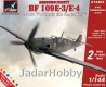 "Armory AR14303 1/144 Messerschmitt Bf 109E ""WWII: in the beginning""  2 in 1"