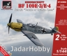 "Armory AR14304 1/144 Messerschmitt Bf 109E, Set #2 ""Battle of Britain Aces""  2 in 1"