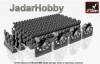 Armory AR AC7334c 1/72 M1 Abrams series late type tracks (hollow teeth) w/ drive wheels