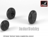 Armory AR AW48414 1/48 Hawker Hurricane Wheels w/Weighted Tyres