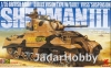 Asuka Model 35-017 1/35 British Army Sherman III Direct Vision Type