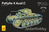 Attack 72893 1/72 PzKpfw II Ausf.C Eastern Front 1941