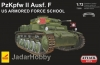 Attack 72899 1/72 PzKpfw II Ausf.F US Armored Force School