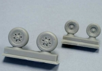 Attack Squadron 48062 1/48 F/A-18 A/B/C/D wheel set (Kinetic)