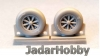 Attack Squadron 48072 1/48 F4U Corsair / F6F Hellcat Late Ribbed Thread (late '50s) Wheels set