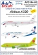 AviaDecals AVD144-08 Airbus A320 (1:144)
