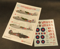 Avi Print 72002# 1/72 Czechoslovakian pilots in RAF (Night Fighters pt 1)